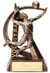 Ultra Action Volleyball Trophy (Male) Volleyball Trophies