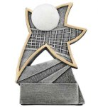Volleyball Jazz Star Resin Volleyball Trophies