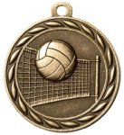 Scholastic Volleyball Medal Volleyball Trophies
