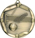 Ribbon Volleyball Medal Volleyball Trophies