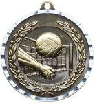 Diamond Cut Volleyball Medal Volleyball Trophies