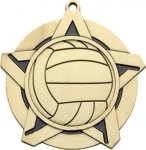 Super Star Volleyball Medal Volleyball Trophies
