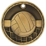 3D Volleyball  Medal Volleyball Trophies