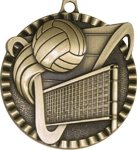 Victor Volleyball Medal Volleyball Trophies