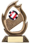 Flame Series Volleyball Volleyball Trophies