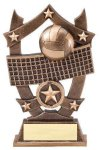 Stars Volleyball Trophy Volleyball Trophies