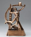 Ultra Action Volleyball Trophy (Female) Volleyball Trophy Awards