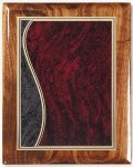 Walnut Gloss Plaque - Sienna Swirl Walnut Plaques