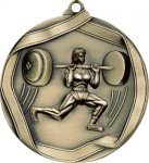 Ribbon Weight Lifting Medal Weight Lifting Medals