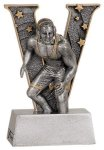 Wrestling V Series Resin Wrestling Trophies