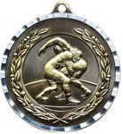 Diamond Cut Wrestling Medal Wrestling Trophies