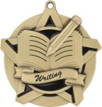 Super Star Writing Medal Writing Medals